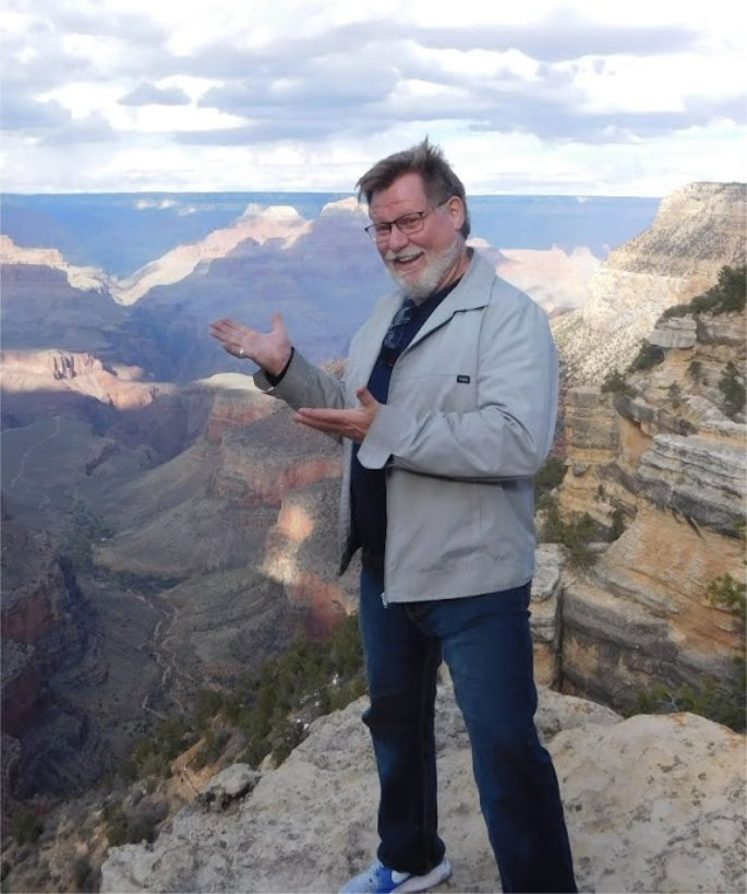 Larry at the Grand Canyon