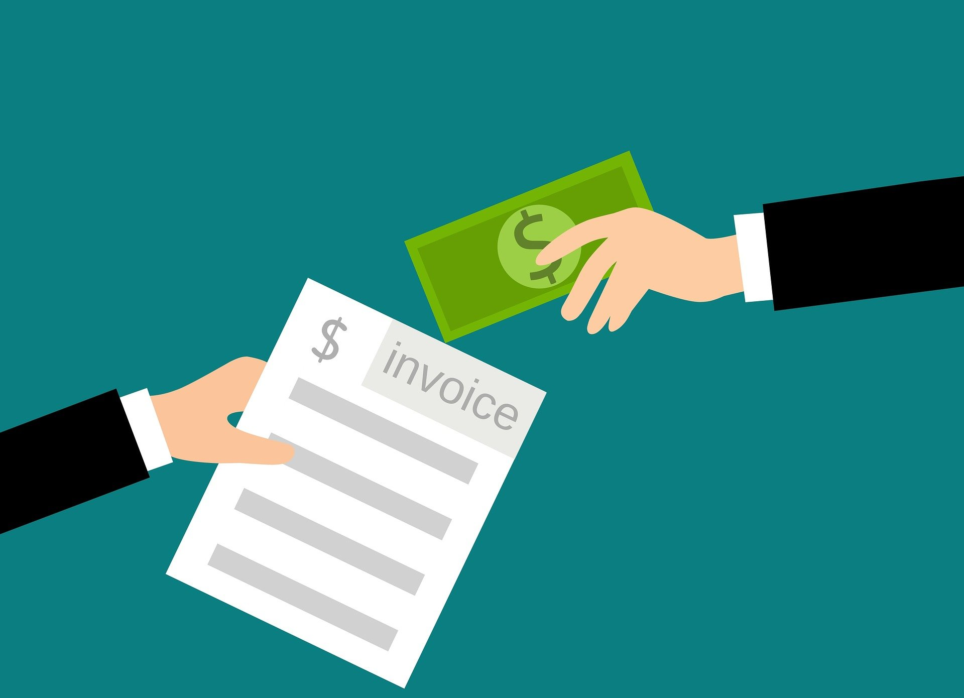 invoice payment graphic